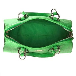 Coach Pebbled Leather Nolita 33735 Green Satchel in Light Green