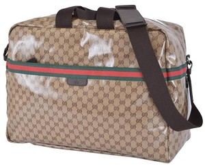 Gucci Travel Weekender Brown Travel Bag