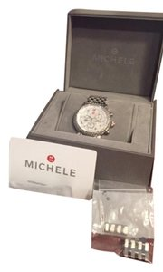 Michele Michele CSX 36 Diamond Women's Watch, mother of pearl