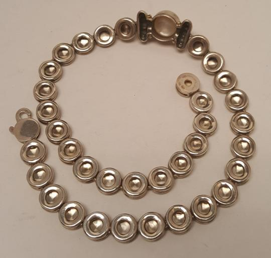 Mabe Pearl Necklace: Lagos Silver With 18k Gold Caviar Sterling And Mabe Pearl