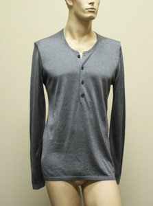 Gucci Gray New Buttoned Men's Silk Sweater Top 2xl 260483 1377 Groomsman Gift