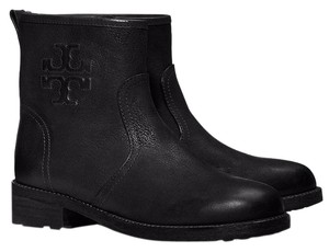 Tory Burch Leather Boot Black Boots