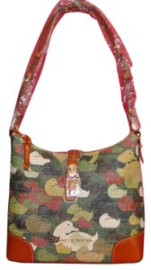 Dooney & Bourke Camouflage Duck Lined Hobo Bag