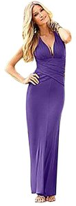 PURPLE Maxi Dress by VENUS New Maxi Maxi Long Sexy Open Back