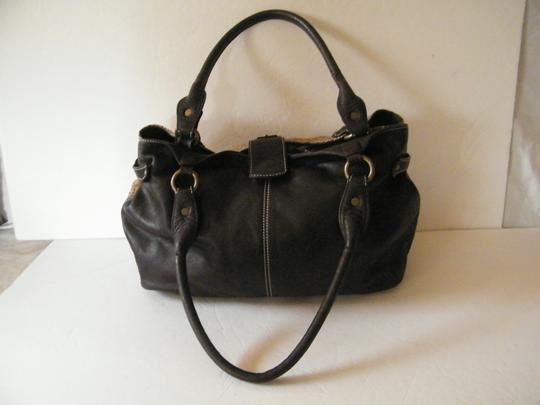 Other Leather Reptile Embossed Hobo Bag
