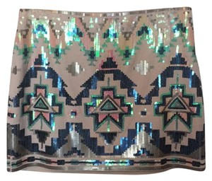 Express Mini Skirt Sequin