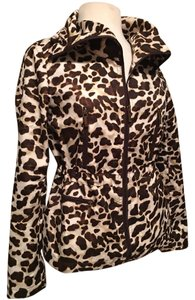 Jones New York Brown animal print Jacket