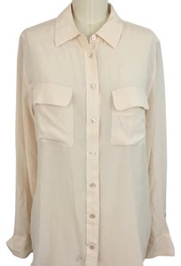 Equipment Button Down Shirt Pale pink