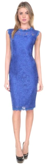 Preload https://img-static.tradesy.com/item/20118424/blue-women-s-lace-sleeveless-overlay-cocktail-party-above-knee-workoffice-dress-size-12-l-0-1-650-650.jpg