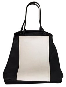 Furla Tote in Black & White