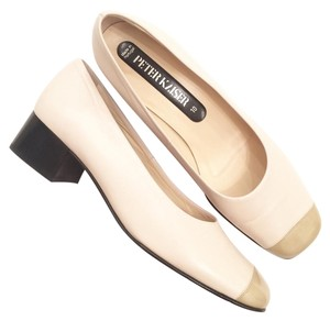 Peter Kaiser Cream Tan Pumps