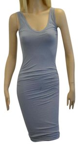 James Perse short dress GRAY on Tradesy