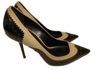 Burberry Pump Heels Black & Beige Pumps