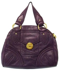 Marc by Marc Jacobs Leather Purple Shoulder Bag