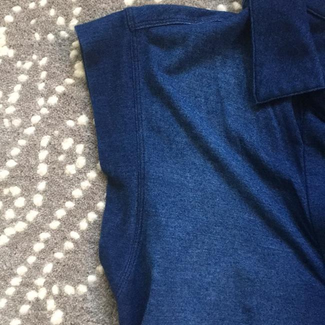 Cloth & Stone short dress Blue Soft Ombre Weekend Comfortable on Tradesy