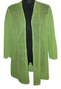 Chico's Neon Sweater Fall Autumn Winter Cardigan