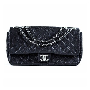 Chanel Maxi Lucky Charms Flap Shoulder Bag