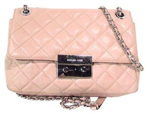 Michael Kors Leather Quilted Shoulder Bag