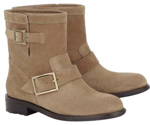 SOLD Jimmy Choo Nude Boots
