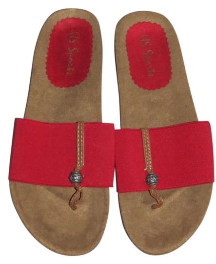 Preload https://item1.tradesy.com/images/red-sandals-size-us-5-201190-0-0.jpg?width=440&height=440