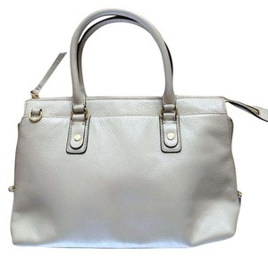 Lands' End Preppy Classic Satchel in Off-whte
