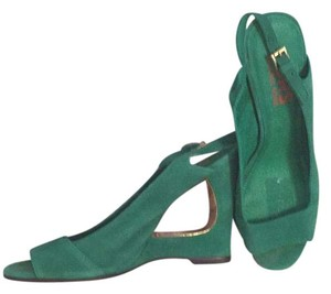 Michael Kors Green Wedges