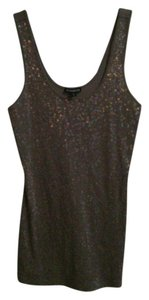 Express Top Beige sequin