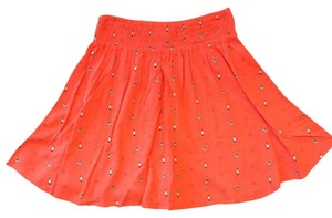 Mossimo Supply Co. Mini Skirt Orange