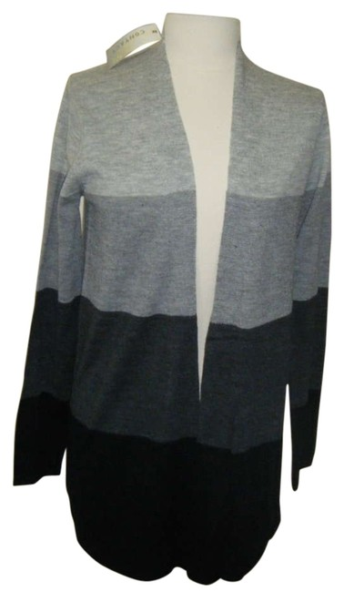 Preload https://item4.tradesy.com/images/black-and-gray-stripe-sweater-longer-length-open-front-cardigan-size-6-s-201193-0-0.jpg?width=400&height=650