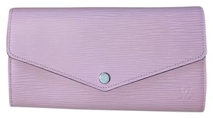 Louis Vuitton NWT SOLDOUT RARE Epi Leather Sarah Wallet In Rose Ballerine