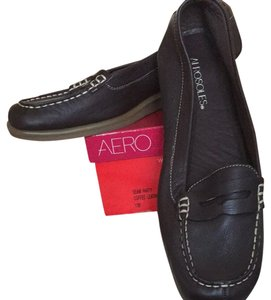 Aerosoles Coffee Leather Flats