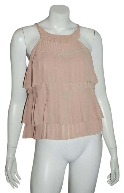 Preload https://img-static.tradesy.com/item/20119467/h-and-m-blush-conscious-exclusive-111016-tiered-holiday-blouse-tank-tunic-size-4-s-0-1-650-650.jpg