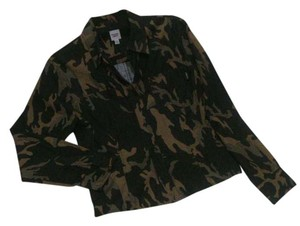 Liberté by Emanuel Camouflage Shirt Button Trendy Button Down Shirt Camo