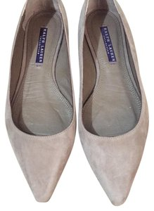 Ralph Lauren Collection Taupe Flats