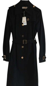 Tory Burch Tory Black Theory Raincoat Trench Coat