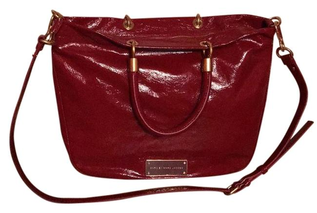 Item - M0005029 Too Hot To Handle Cabernet Red Patent Leather Tote