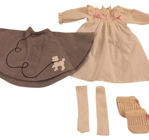 American Girl Doll Clothes Christmas Dress