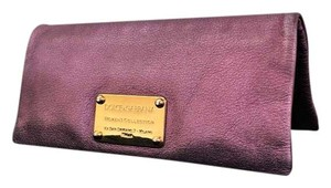 Dolce&Gabbana Metallic Purple Clutch