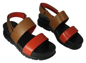 Cole Haan brown/ red Sandals