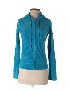 Juicy Couture Terry Cloth Ocean Sweatshirt