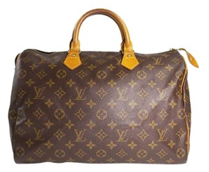 Louis Vuitton Lv Speedy 35 Lv Speedy Tote in monogram