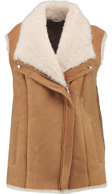 Preload https://img-static.tradesy.com/item/20120131/joie-camel-and-cream-brinley-gilet-shearling-vest-size-8-m-0-1-650-650.jpg