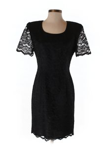 Scarlett short dress black Lace Formal Cocktail Holiday on Tradesy