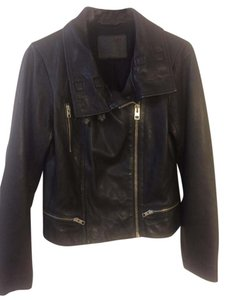 AllSaints Motorcycle Biker Leather Leather Jacket