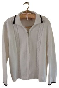 Liz Claiborne Cardigan Tennis Sporty Golf Sweater