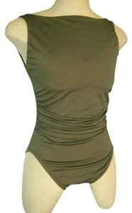 Miraclesuit New Miraclesuit Regatta Shaping One-Piece Swimsuit Size 14 Olive Green