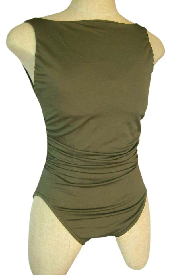 bceee0fbde6b4 Miraclesuit New Miraclesuit Regatta Shaping One-Piece Swimsuit Size 14  Olive Green Image 0 ...