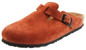 Birkenstock Burnt orange Mules