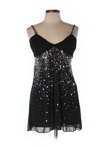 Ruby Rox Embellished Sequin Holiday Dress