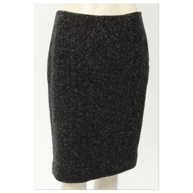 Preload https://img-static.tradesy.com/item/20120521/ralph-lauren-collection-black-and-white-purple-label-and-cashmere-blend-pencil-knee-length-skirt-siz-0-1-650-650.jpg